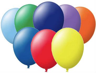 Unprinted Balloons, Latex, 72cm