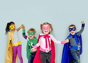 Specialty Balloon Printers Superheroes